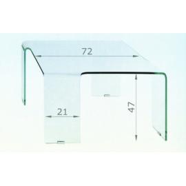 Skleněný stolek DIAMANT