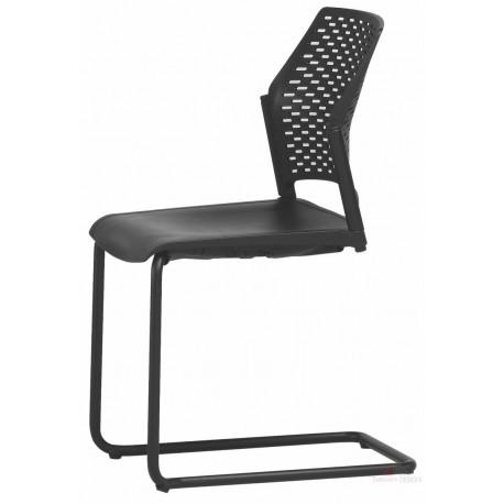 Jednací židle REWIND RW2106 pérová plast RIM