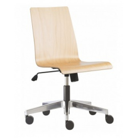 Dřevěná otočná židle POPPY 230