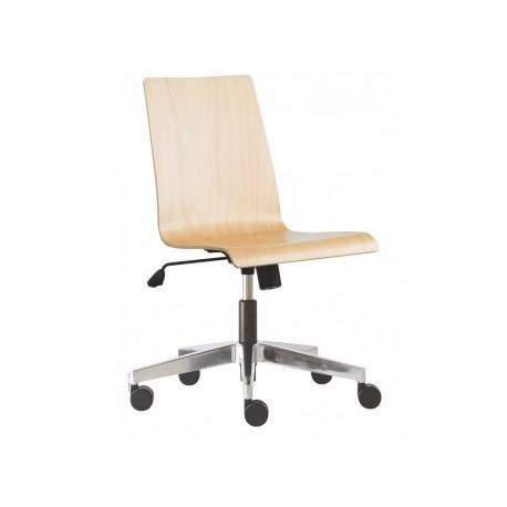 Dřevěná otočná židle POPPY 230 RIM
