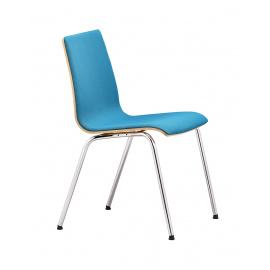 Dřevěná konferenční židle SITTY SI4103 poločalouněná
