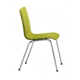 Dřevěná konferenční židle SITTY SI4104 celočalouněná