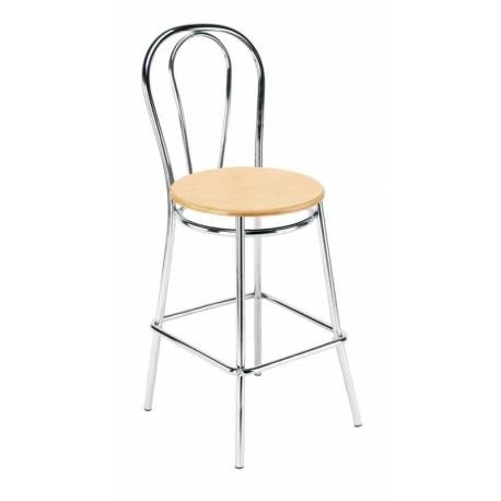 Barová židle Tulipan wood 78 Nowy Styl