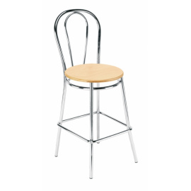 Barová židle Tulipan wood