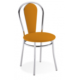 Židle s čalouněnými zády TULIPAN PLUS