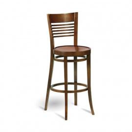 Dřevěná barová židle H-4720