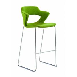 2160SB TC Aoki celočalouněná barová židle