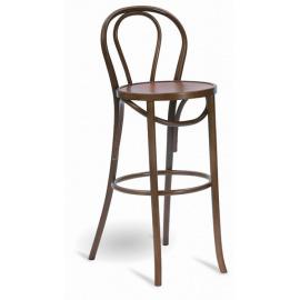 Dřevěná barová židle A-1840