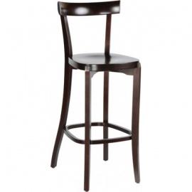 Dřevěná barová židle H-2000