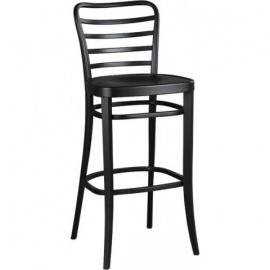 dřevěná barová židle H-8291