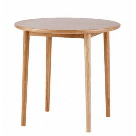 dřevěný kulatý stůl PROP