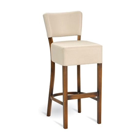 Dřevěná barová židle H-0910 GALERIE - Moření Paged Contract mořený buk
