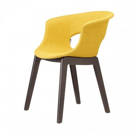 Čalouněná židle NATURAL MISS B POP Scab