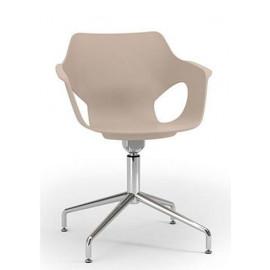 Dřevěná jednací židle EM 207/E