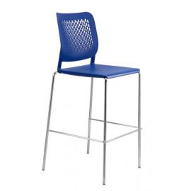 Plastová barová židle EM208