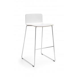 Barová dřevěná židle COM K12CV