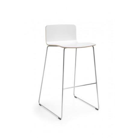 Barová dřevěná židle COM K12CV profim