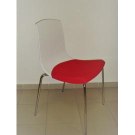 Konferenční židle JOY s čalouněným sedákem