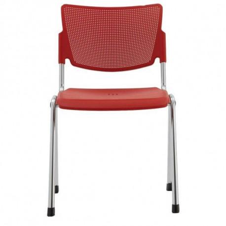 Plastová konferenční židle MIA Alba - Klasik