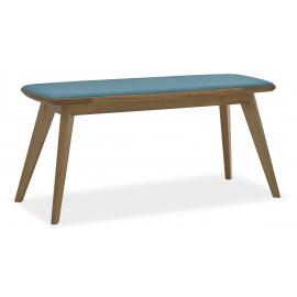 Dřevěná čalouněná lavice Witty WT5486