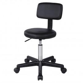 Otočná pracovní stolička s opěrákem 82B