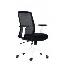 Kancelářská židle NOVELLO BLACK WHITE