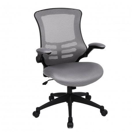 Kancelářská židle LINDY G81 Barva síťoviny DSG šedá síťovina OBN81G