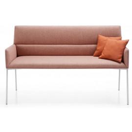 Čalouněná 2-místná lavice Chic Air B20H - kombinace