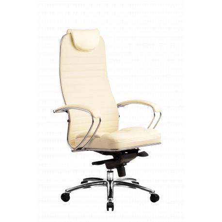Kožená kancelářská židle SAMURAI - KL1 HODNOTY čalounění Samurai černá kůže