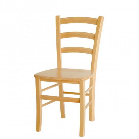 Jídelní židle PAYSANE masiv Moření Stima Tmavě hnědá