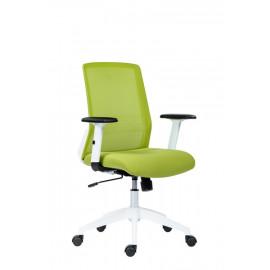 Kancelářská židle NOVELLO WHITE-GREEN