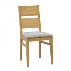Jídelní židle ORLY s čalouněným sedákem