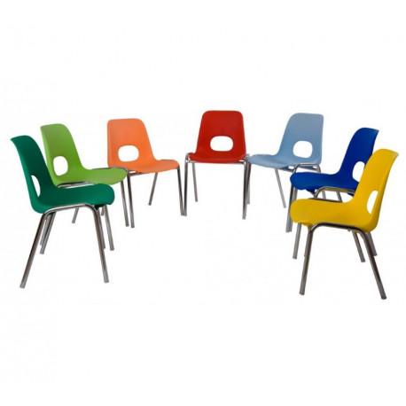 Dětská plastová židle HELENE Piccola Alba - Klasik
