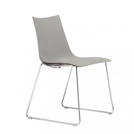 Plastová židle ZEBRA TECHNOPOLYMER sledge Scab (odběr po 2ks)