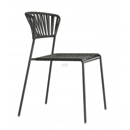 Zahradní židle LISA CLUB Barva kostry Scab antracit PVC výplet SCAB P86 - antracit 287486