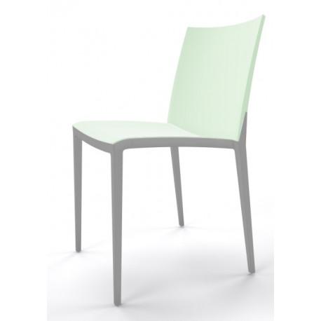 Plastová židle OVER Barva plastu Gaber bílá 00