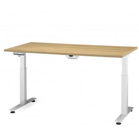 Elektricky stavitelný stůl ADJUST 2 Doplňky bez kabelového organizéru Moření RIM bílá Egger W980ST2 Rozměr desky stolu rozměr desky stolu 160 x 80 cm přípojné místo přípojné místo