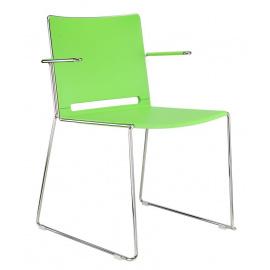 Plastová židle FILO s područkami