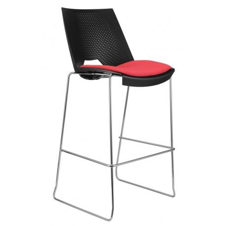 Barová židle STRIKE bar s čalouněným sedákem Alba - Empire