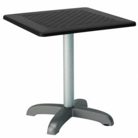 Zahradní stůl DODOTA C, hliník - tmavě zelená