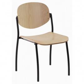 Konferenční židle WENDY dřevěná - 4 nohy