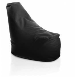 Sedací vak HACI XL - eko kůže - černá