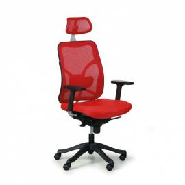 Kancelářská židle Bruggy - červená