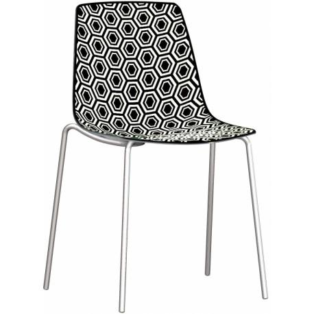 Plastová židle ALHAMBRA Gaber (odběr po 4ks)