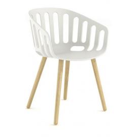 Plastová židle BASKET CHAIR BL