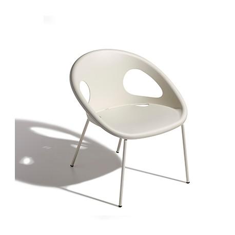 Plastová židle DROP 4 LEGS coated frame Scab (odběr po 2ks)