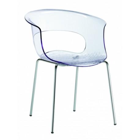 Plastová židle MISS B Scab (odběr po 4ks)