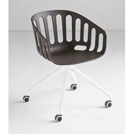 Plastová židle BASKET CHAIR U
