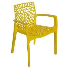 Plastová židle GRUVYER s područkami
