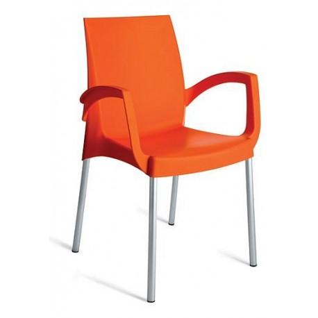 Plastová židle BOULEVARD s područkami ITTC Stima